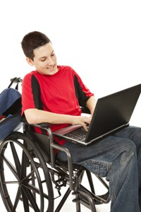 disabled teen